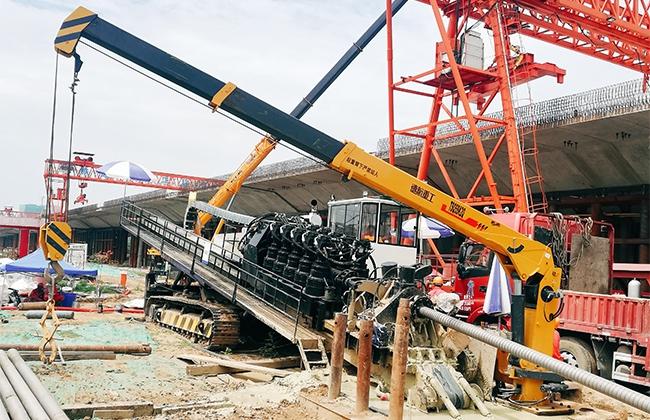 DH5800-LL型水平定向钻机郑州施工现场